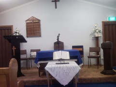 Our small church