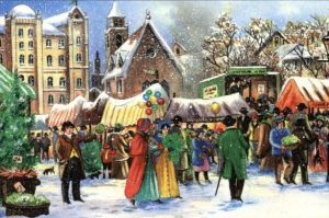 19th Century Christmas Shopping - so much easier  :o)