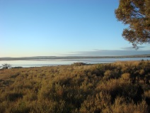 The Salt lake at Lochiel