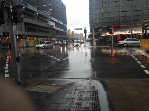 More rain in Adelaide