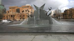 The Main fountain, Victoria Square, Adelaide SA