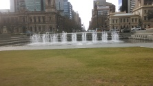The other end of Victoria Square.