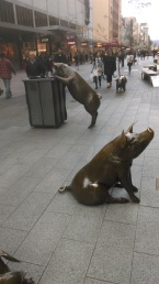 The Porkers at Rundle Mall, Adelaide