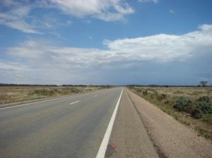 Highway 1 - the road behind