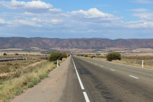 The lower Flinders Ranges