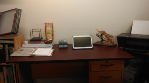My working desk