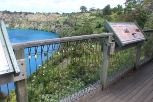 Padlocks and the Blue Lake