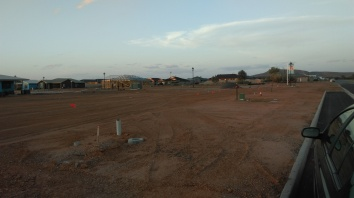 New Houses still going up.