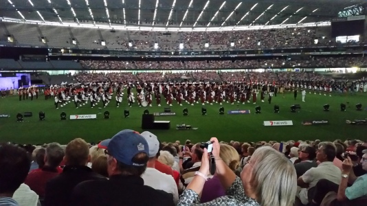 Edinburgh Military Tattoo - Melbourne - Austtralia
