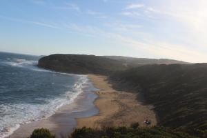 Not a lot of beach at Bells Beach